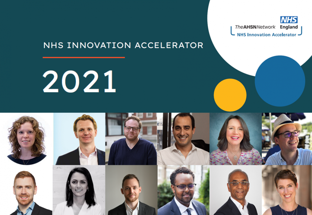 Twelve innovators selected to scale across England's NHS with support from the NHS Innovation Accelerator